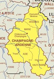 mapa xampany